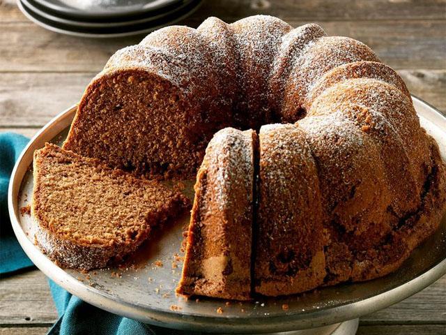 Кофейный пирог на кефире