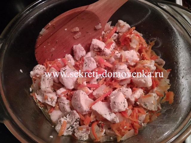 Как приготовить плов из курицы, чтобы рис был рассыпчатым? 11
